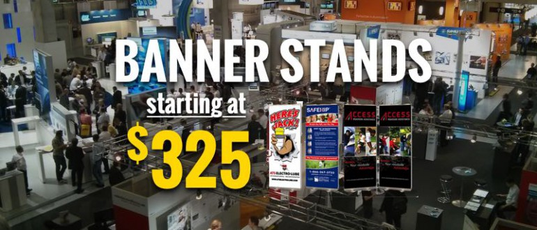 trade show banners promotions